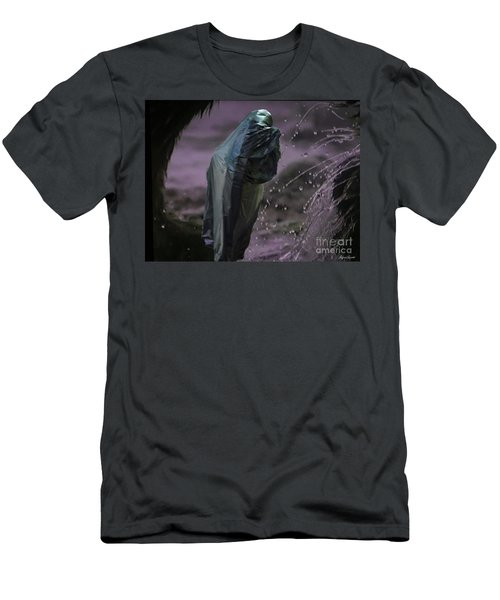 Men's T-Shirt (Slim Fit) featuring the digital art Eternity by Lyric Lucas