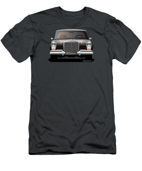 Euro Classic Series Mercedes-benz W100 600 Men's T-Shirt (Athletic Fit)