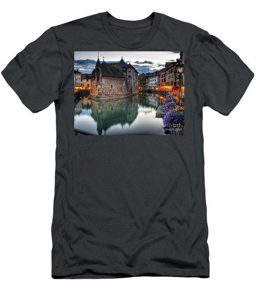 European Beauty 2 Men's T-Shirt (Slim Fit) by Rod Jellison