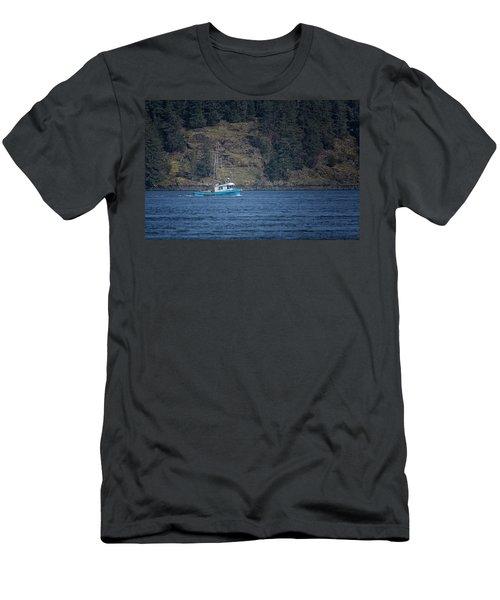 Evening Breeze Men's T-Shirt (Slim Fit) by Randy Hall