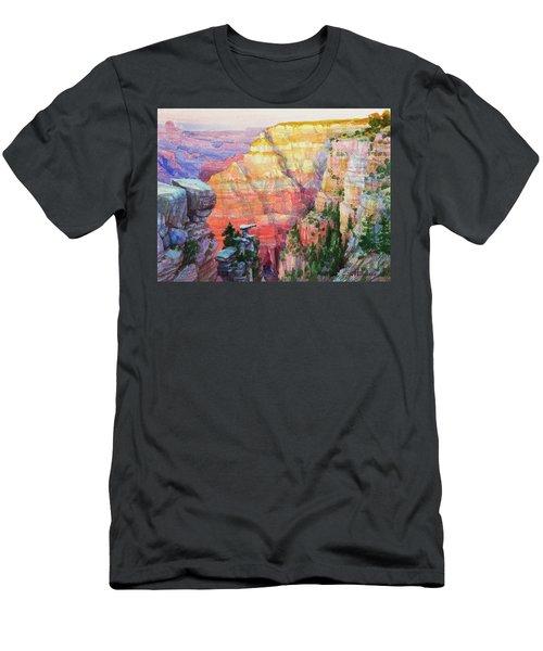 Evening Colors  Men's T-Shirt (Athletic Fit)