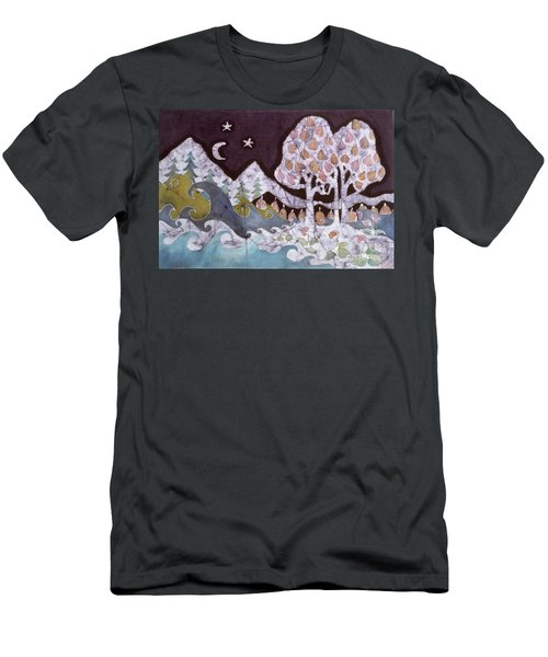 Evening In A Gentle Place Men's T-Shirt (Athletic Fit)