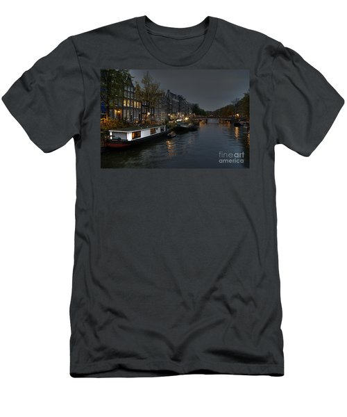 Evening In Amsterdam Men's T-Shirt (Athletic Fit)