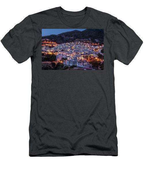 Evening In Competa Men's T-Shirt (Athletic Fit)