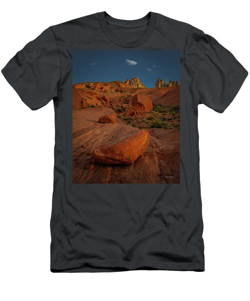Evening In The Valley Of Fire Men's T-Shirt (Athletic Fit)