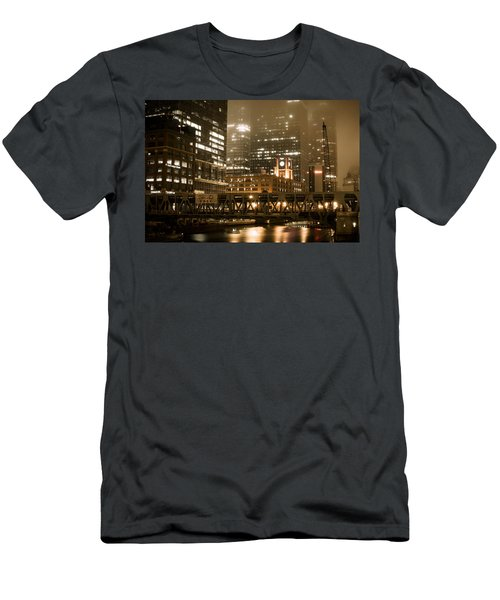 Evening In The Windy City Men's T-Shirt (Athletic Fit)