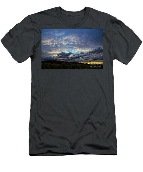 Evening Light Men's T-Shirt (Slim Fit) by Billie-Jo Miller