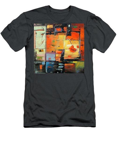 Evening Light Men's T-Shirt (Slim Fit) by Gary Coleman