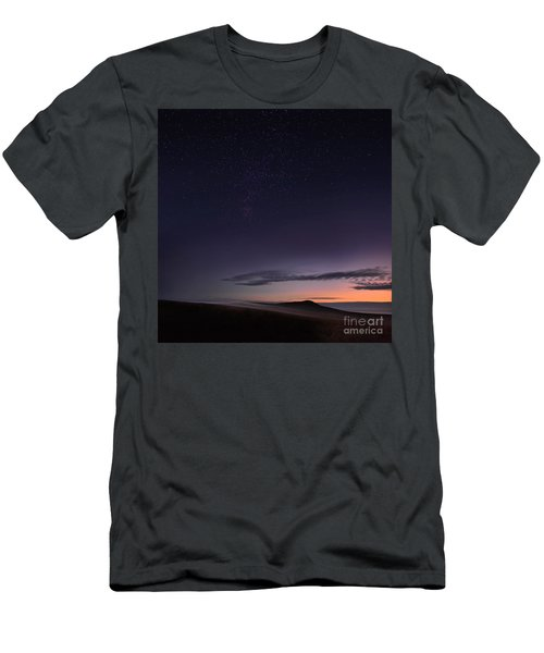 Evening Mist Rising On The Cronk Men's T-Shirt (Athletic Fit)