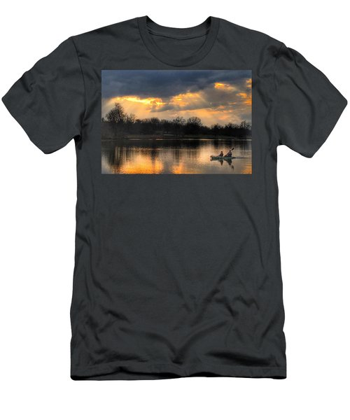 Evening Relaxation Men's T-Shirt (Athletic Fit)