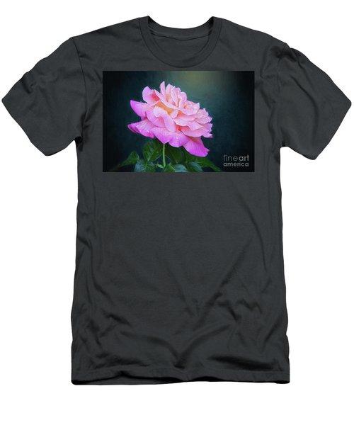 Evening Rose Men's T-Shirt (Athletic Fit)