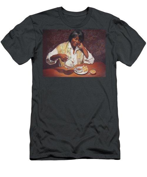 Evening Tea Men's T-Shirt (Athletic Fit)