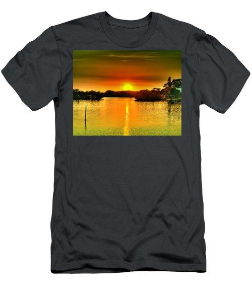 Evening Time Men's T-Shirt (Athletic Fit)
