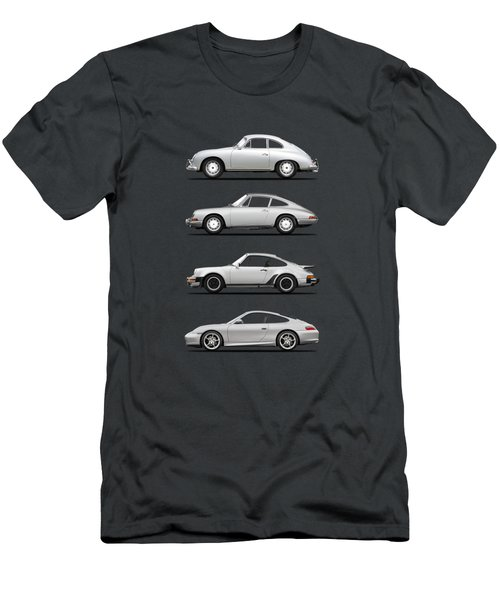 Evolution Of The 911 Men's T-Shirt (Athletic Fit)