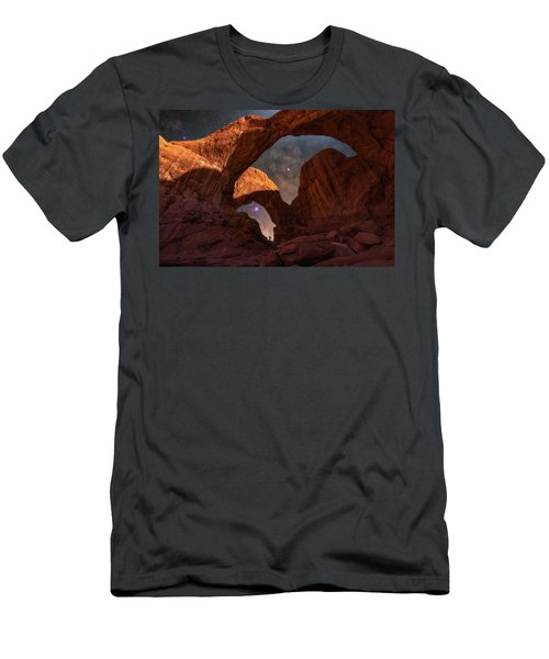Men's T-Shirt (Athletic Fit) featuring the photograph Explore The Night by Darren White