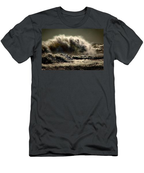 Explosion In The Ocean Men's T-Shirt (Athletic Fit)