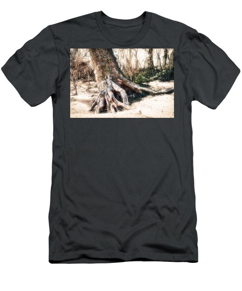 Exposed Men's T-Shirt (Slim Fit) by Robert FERD Frank