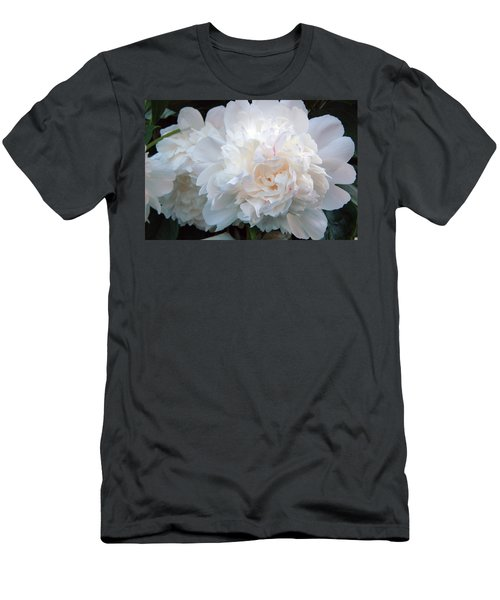 Extravagant Peony Men's T-Shirt (Athletic Fit)