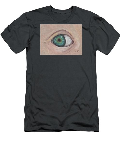 Eye Men's T-Shirt (Slim Fit) by Brenda Bonfield