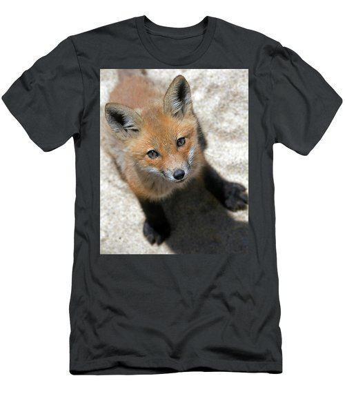 Eye Contact Men's T-Shirt (Slim Fit) by Stephen Flint