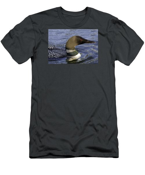 Eye Of The Loon Men's T-Shirt (Athletic Fit)
