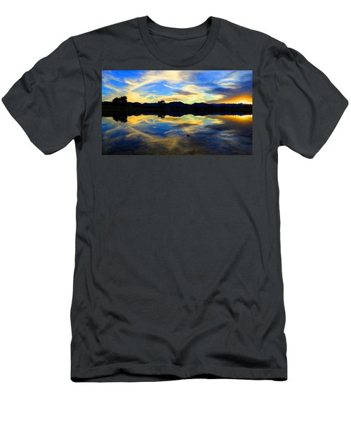 Eye Of The Mountain Men's T-Shirt (Athletic Fit)