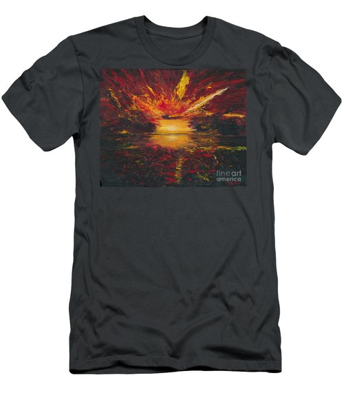 Eye Of The Storm Men's T-Shirt (Slim Fit) by Ania M Milo