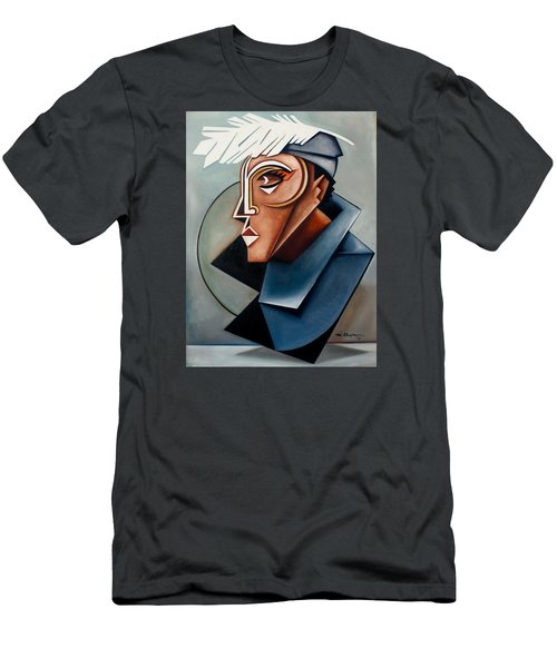 Eye Of The Watched Divine / Zora Neale Hurston Men's T-Shirt (Athletic Fit)