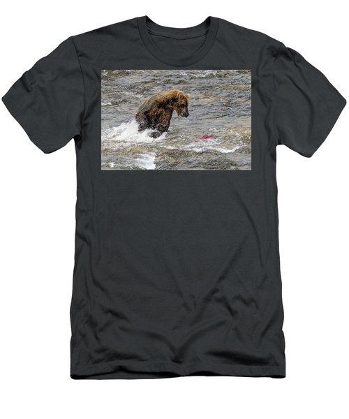 Eye On The Sockeye Men's T-Shirt (Athletic Fit)