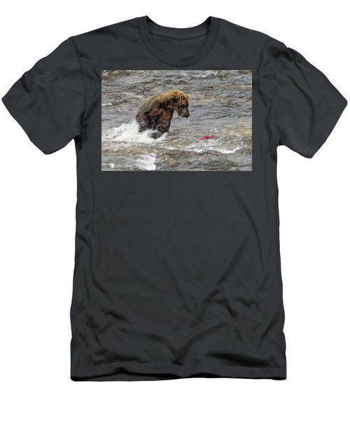 Eye On The Sockeye Men's T-Shirt (Athletic Fit)