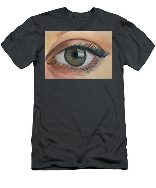 Eye - The Window Of The Soul Men's T-Shirt (Slim Fit) by Vishvesh Tadsare