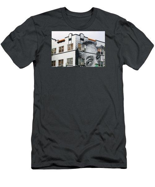 Face House, Calle Ocho Men's T-Shirt (Athletic Fit)