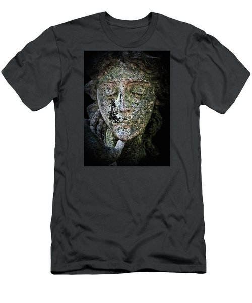 Face Of An Angel 11 Men's T-Shirt (Slim Fit) by Maria Huntley
