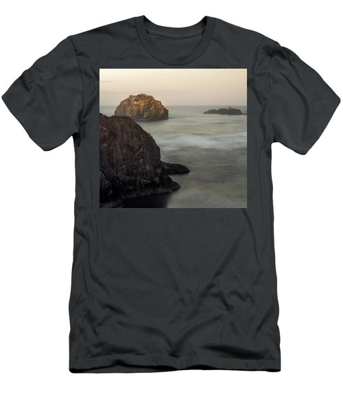 Face Rock Sunrise Men's T-Shirt (Athletic Fit)