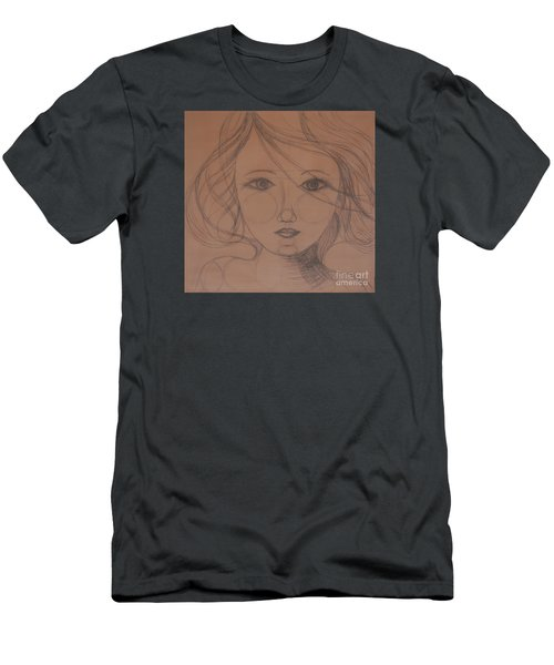 Face Study Men's T-Shirt (Slim Fit) by Tamyra Crossley