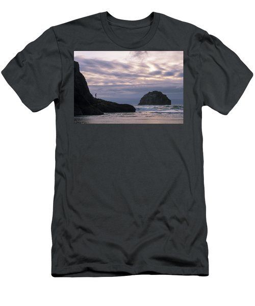Face Time Men's T-Shirt (Athletic Fit)