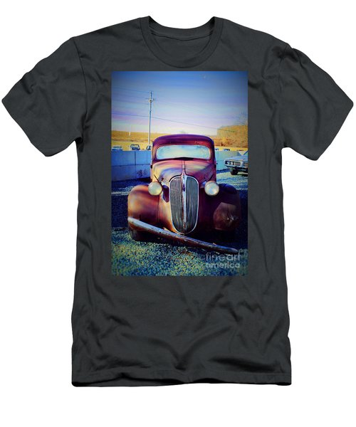 Facelift Wanted Car Men's T-Shirt (Athletic Fit)