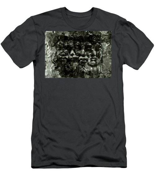 Faces Men's T-Shirt (Athletic Fit)