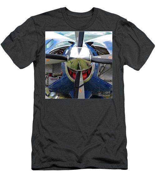 Men's T-Shirt (Athletic Fit) featuring the photograph Faces Of Oshkosh 2012. #03 by Ausra Huntington nee Paulauskaite