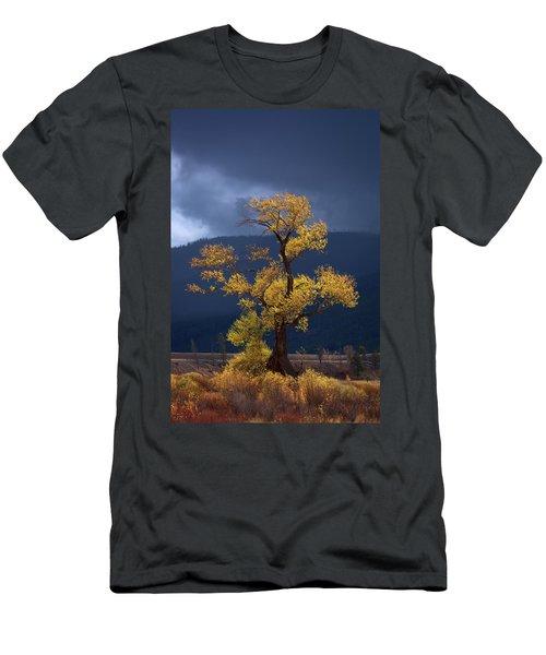 Facing The Storm Men's T-Shirt (Athletic Fit)