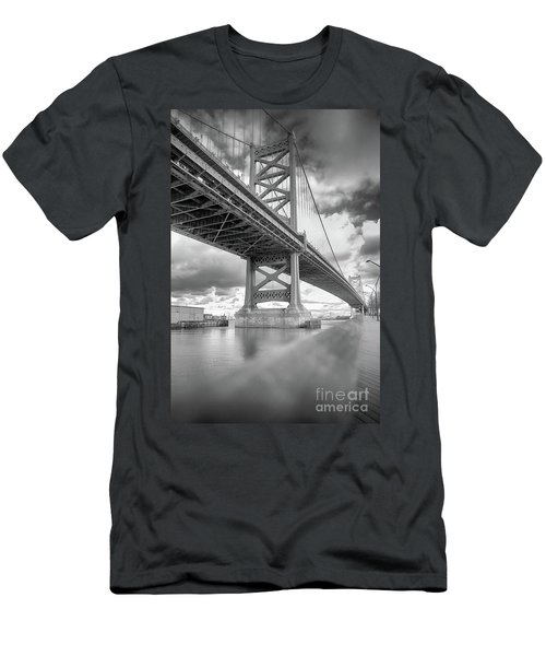Fade To Bridge Men's T-Shirt (Athletic Fit)
