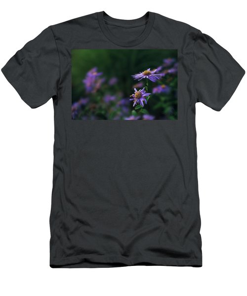 Men's T-Shirt (Athletic Fit) featuring the photograph Fading Beauty by Gene Garnace