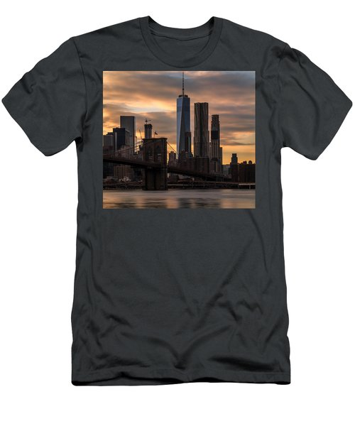 Men's T-Shirt (Slim Fit) featuring the photograph Fading Light  by Anthony Fields