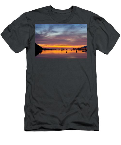 Fading Light, Conwy Estuary Men's T-Shirt (Athletic Fit)