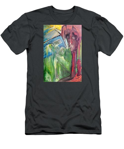 Faintly Visionary Men's T-Shirt (Athletic Fit)