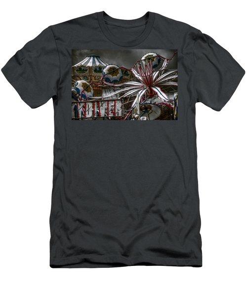 Fairground Rides Men's T-Shirt (Athletic Fit)