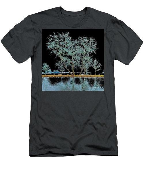 Fairy Tree-1 Men's T-Shirt (Athletic Fit)