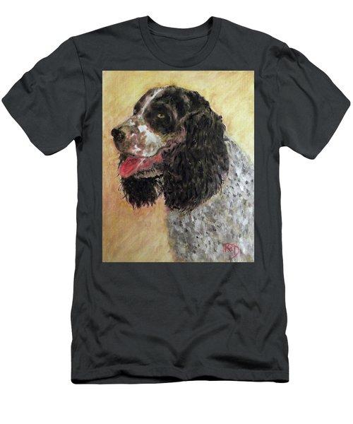 Faithful Spaniel Men's T-Shirt (Athletic Fit)