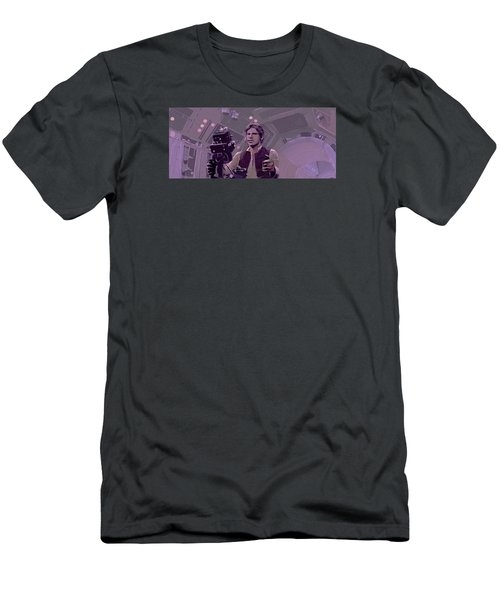 Falcon Gun Turret Men's T-Shirt (Slim Fit) by Kurt Ramschissel