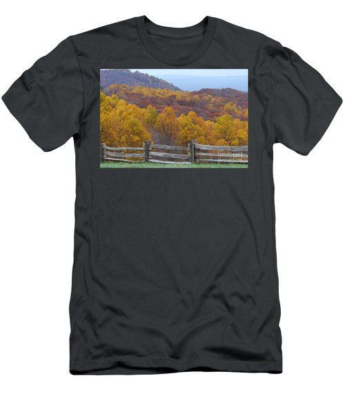 Men's T-Shirt (Slim Fit) featuring the photograph Fall Blend by Eric Liller